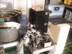 ものづくり補助金で採択をうけた自動画像検査機